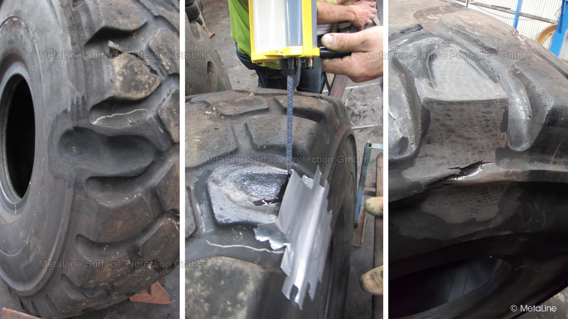 <!-- START: ConditionalContent --><!-- END: ConditionalContent -->   <!-- START: ConditionalContent --> OTR; Tyres; Repair; On site; Sealing; Flank; Overnight; on the rim, tyre damage;  <!-- END: ConditionalContent -->   <!-- START: ConditionalContent --><!-- END: ConditionalContent -->   <!-- START: ConditionalContent --><!-- END: ConditionalContent -->