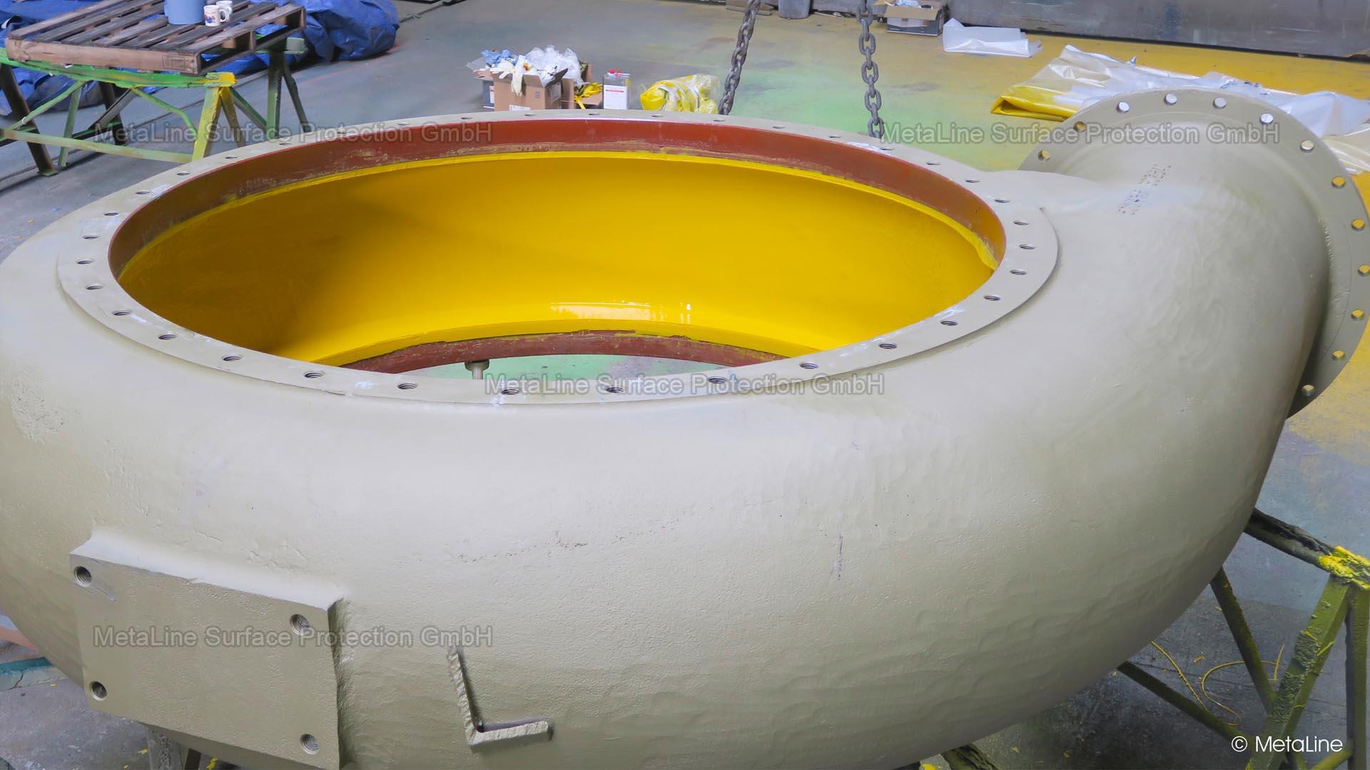 MetaLine | erosion resistant coatings for pump casings