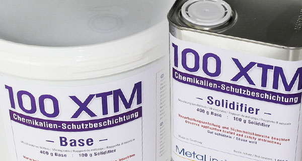 MetaLine 100 XTM - chemical protective coating
