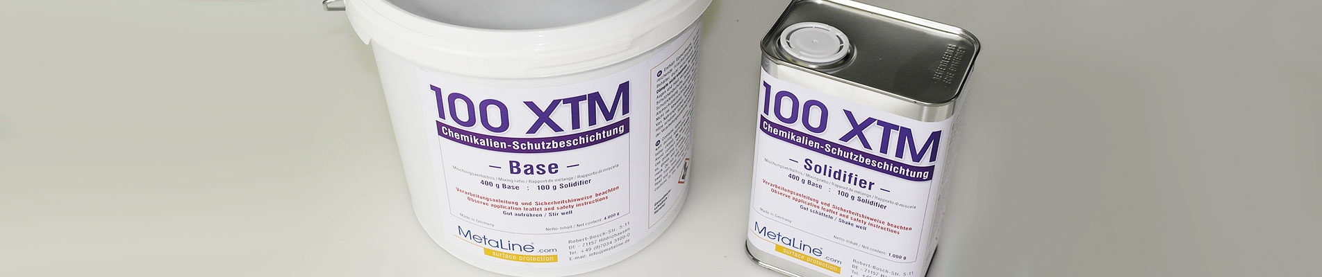 MetaLine 100 XTM chemical protection