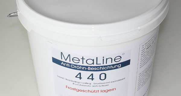 MetaLine 440 - sound deadening sprayable coating