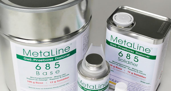 MetaLine Series 600 - trowelable elastomeric coatings
