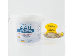 Protección contra el ruido pulverizable MetaLine 440